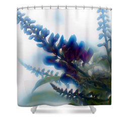Shower Curtain featuring the photograph Vine 2 by Travis Burgess