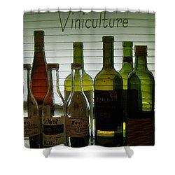Viniculture  Shower Curtain
