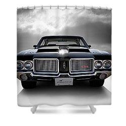 Vintage 442 Shower Curtain by Douglas Pittman