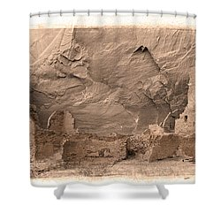 Vintage Canyon De Chelly Shower Curtain by Jerry Fornarotto