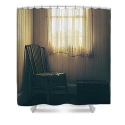 Vintage Charm Shower Curtain by Margie Hurwich