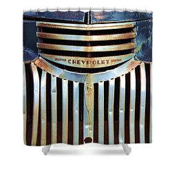 Vintage Chevrolet 005 Shower Curtain by Robert ONeil