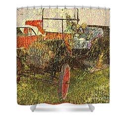Vintage Classic Automobile Shower Curtain