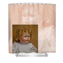 Vintage Doll Beauty Art Prints Shower Curtain