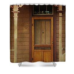 Vintage Doorway Shower Curtain by Marilyn Wilson