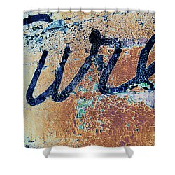 Shower Curtain featuring the photograph Vintage Eureka by Steven Bateson