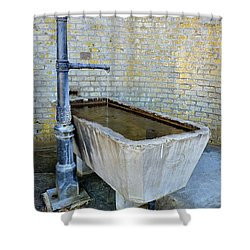 Vintage Fountain Shower Curtain