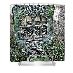 Vintage Garden Grate Shower Curtain