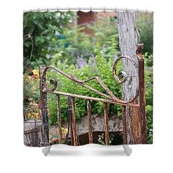 Vintage Gate Shower Curtain