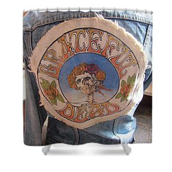 Vintage - Grateful Dead - Fashion Shower Curtain by Susan Carella
