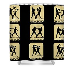 Vintage - How To Box Shower Curtain by Bill Cannon