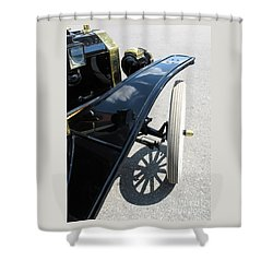 Vintage Model T Shower Curtain