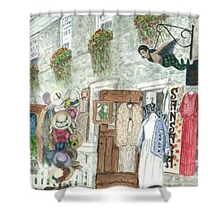 Vintage New Hope Shower Curtain