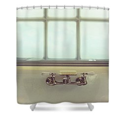 Vintage Soap Shower Curtain by Margie Hurwich