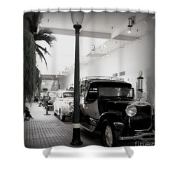 Vintage Street Shower Curtain