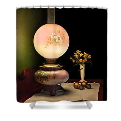 Vintage - Travelers Journal  Shower Curtain by Mike Savad