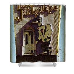 Vintage Vegas Shower Curtain by John Malone