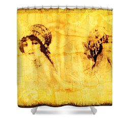 Vintage Victorian Rivals I Shower Curtain