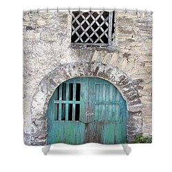 Vintage Wine Cellar Shower Curtain