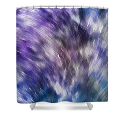 Violet Breeze Shower Curtain