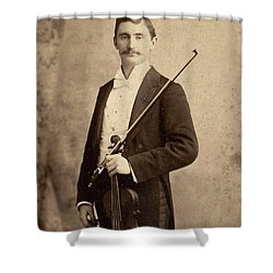 Violinist, C1900 Shower Curtain