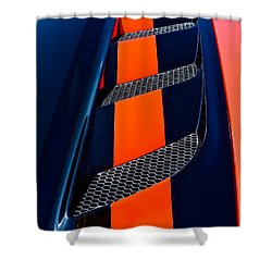 Shower Curtain featuring the photograph Viper by Linda Bianic