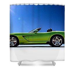 Viper Roadster Shower Curtain by Douglas Pittman