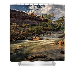 Virgin River Shower Curtain by Jeff Burton