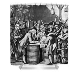 Virginia Loyalists, 1774 Shower Curtain by Granger