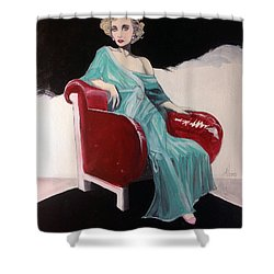 Virginia Smith Shower Curtain by Jimmy Adams