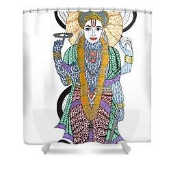 Vishnu II Shower Curtain