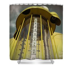 Visible Gas Pump Shower Curtain