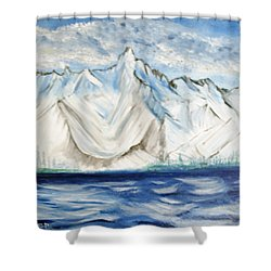 Vision Of Mountain Shower Curtain