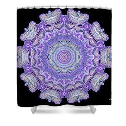 Shower Curtain featuring the digital art Vision Wheel by Aliceann Carlton