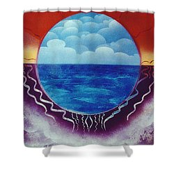 Visions Shower Curtain by Jason Girard