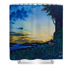 Visions Of Paradise II Shower Curtain