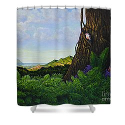 Visions Of Paradise V Shower Curtain