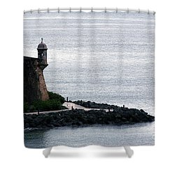 Vista De La Garita Shower Curtain