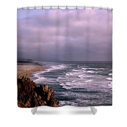 Vista Del Mar San Francisco Shower Curtain by M Bleichner