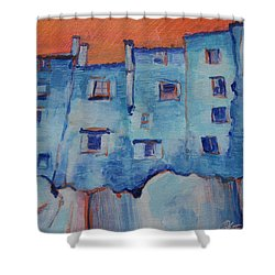 Vitorchiano Bizzaro Shower Curtain