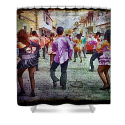 Viva La Fiesta Shower Curtain