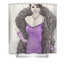 Vivacious Samantha Shower Curtain