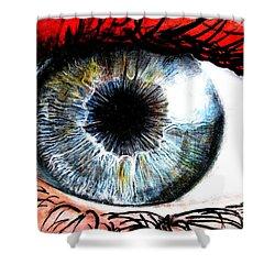 Vivid Vision  Shower Curtain by Tylir Wisdom