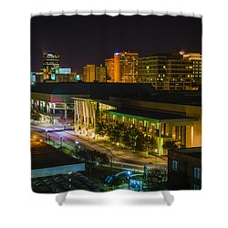 Vividly Downtown Baton Rouge Shower Curtain