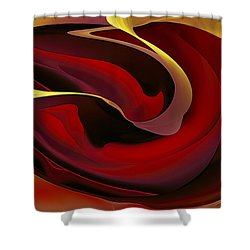 Voluptuous Shower Curtain
