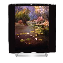 Voronezh River Shower Curtain