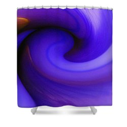 Vortex Shower Curtain