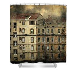 Voyeur Shower Curtain by Taylan Apukovska