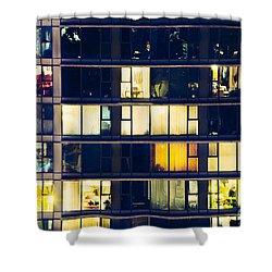 Shower Curtain featuring the photograph Voyeuristic Pleasure Cdlxxxviii by Amyn Nasser