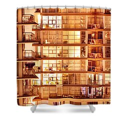 Shower Curtain featuring the photograph Voyeuristic Pleasures Cdxci by Amyn Nasser